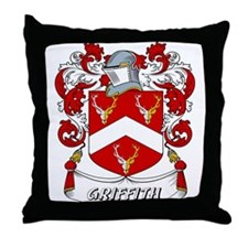 Griffith Coat of Arms Throw Pillow