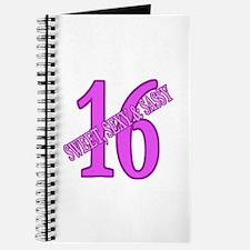 Sexy & Sweet 16 Journal