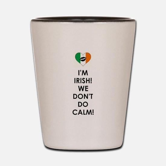 I'M IRISH Shot Glass