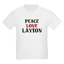 Peace Love Layton T-Shirt