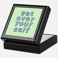 Get Over Yourself Keepsake Box