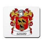 Grono Coat of Arms Mousepad