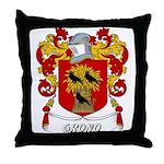 Grono Coat of Arms Throw Pillow