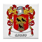 Grono Coat of Arms Tile Coaster