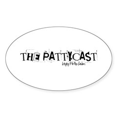 PattyCast Bringing It Oval Decal