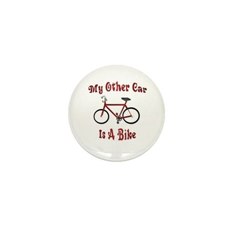 My Other Car Is A Bike Mini Button (100 pack)