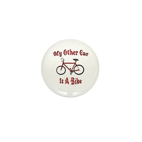 My Other Car Is A Bike Mini Button