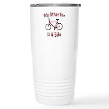 My Other Car Is A Bike Travel Mug