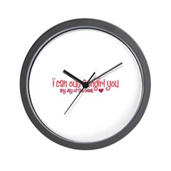 Out-Fangirl Wall Clock