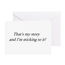 THAT'S MY STORY... Greeting Cards (Pk of 10)