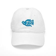 Blue Peace Dove Baseball Cap
