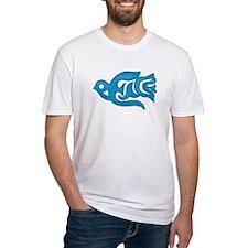 Blue Peace Dove Shirt
