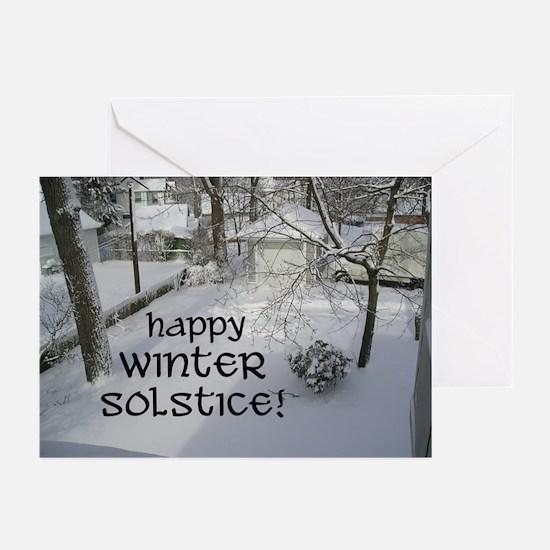 """Suburban Solstice"" Greeting Cards (Pk of 10)"