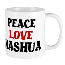 Peace Love Nashua Mug