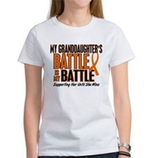 My Battle Too (Granddaughter) Orange Tee