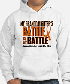 My Battle Too (Granddaughter) Orange Hoodie