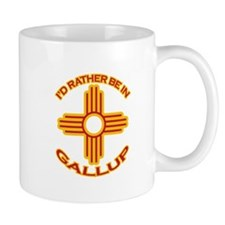 I'd Rather Be In Gallup Mug