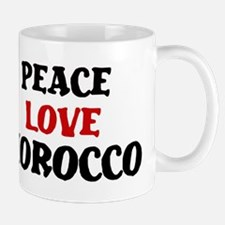 Peace Love Morocco Mug