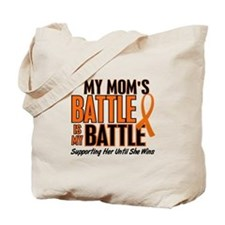 My Battle Too (Mom) Orange Tote Bag
