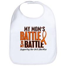 My Battle Too (Mom) Orange Bib
