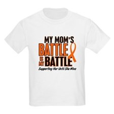My Battle Too (Mom) Orange T-Shirt