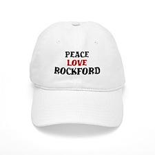 Peace Love Rockford Baseball Cap