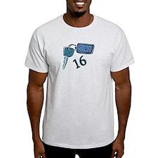 16th B-day Car Keys T-Shirt