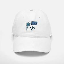 16th B-day Car Keys Baseball Baseball Cap