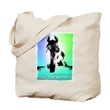 Save the Horses! Tote Bag