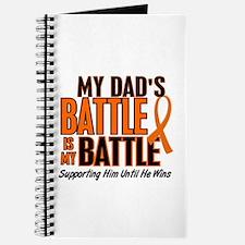 My Battle Too (Dad) Orange Journal