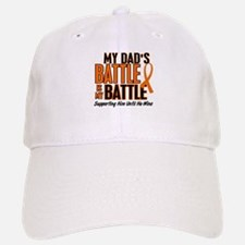 My Battle Too (Dad) Orange Baseball Baseball Cap