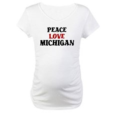 Peace Love Michigan Shirt