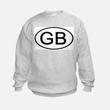 Great Britain - GB - Oval Sweatshirt