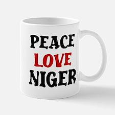 Peace Love Niger Mug