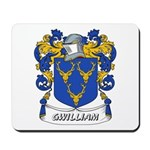 Gwilliam Coat of Arms Mousepad