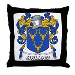 Gwilliam Coat of Arms Throw Pillow