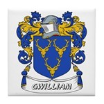 Gwilliam Coat of Arms Tile Coaster