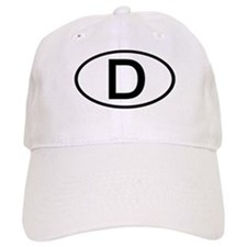 Germany - D - Oval Baseball Cap