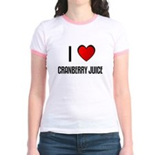 I LOVE CRANBERRY JUICE T