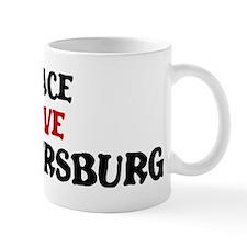 Peace Love St Petersburg Mug