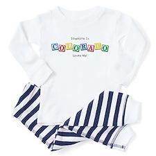 504 circle gold Infant Bodysuit