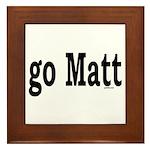 go Matt Framed Tile