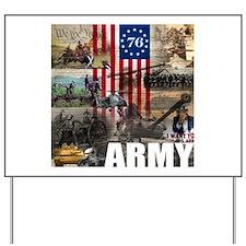 ARMY 1776 Yard Sign