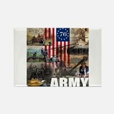 ARMY 1776 Rectangle Magnet