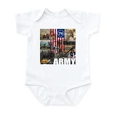 ARMY 1776 Infant Bodysuit