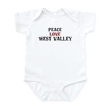 Peace Love West Valley Infant Bodysuit