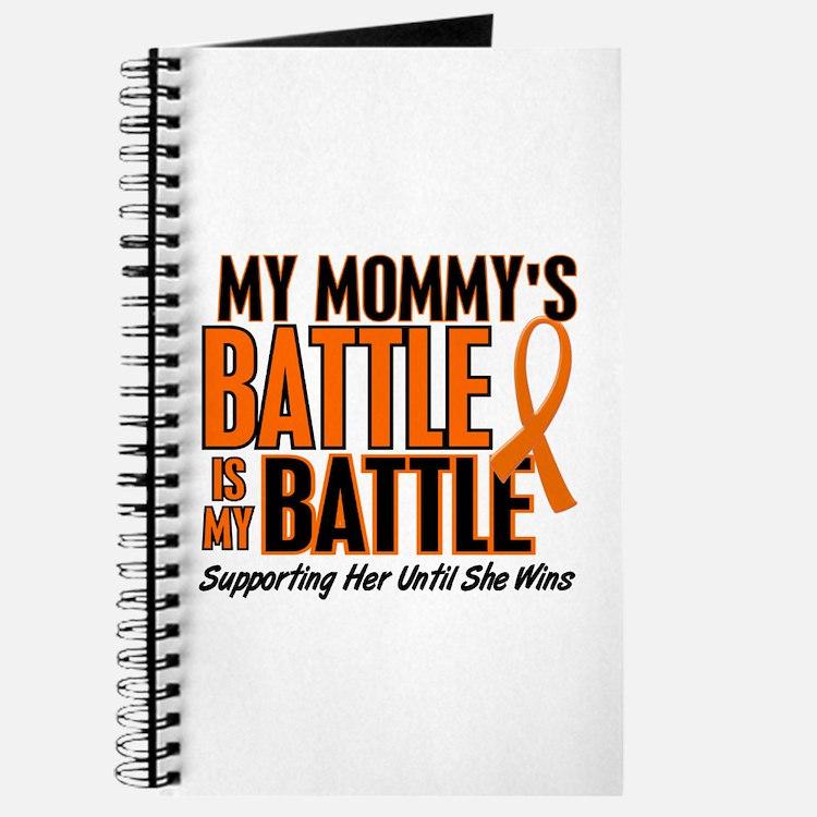 My Battle Too (Daddy) Orange Journal