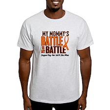 My Battle Too (Daddy) Orange T-Shirt
