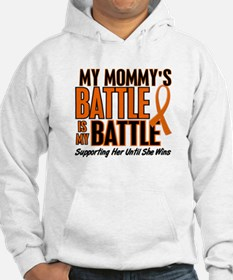 My Battle Too (Daddy) Orange Hoodie