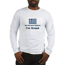 You Bet Your Baklava Long Sleeve T-Shirt